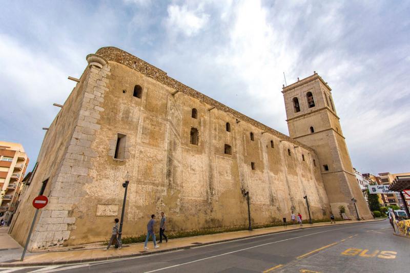 Vista de la Iglesia Fortaleza de la Asunción