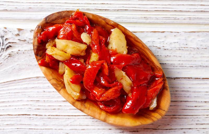 El esgarraet es uno de los platos típicos de la Comunitat Valenciana