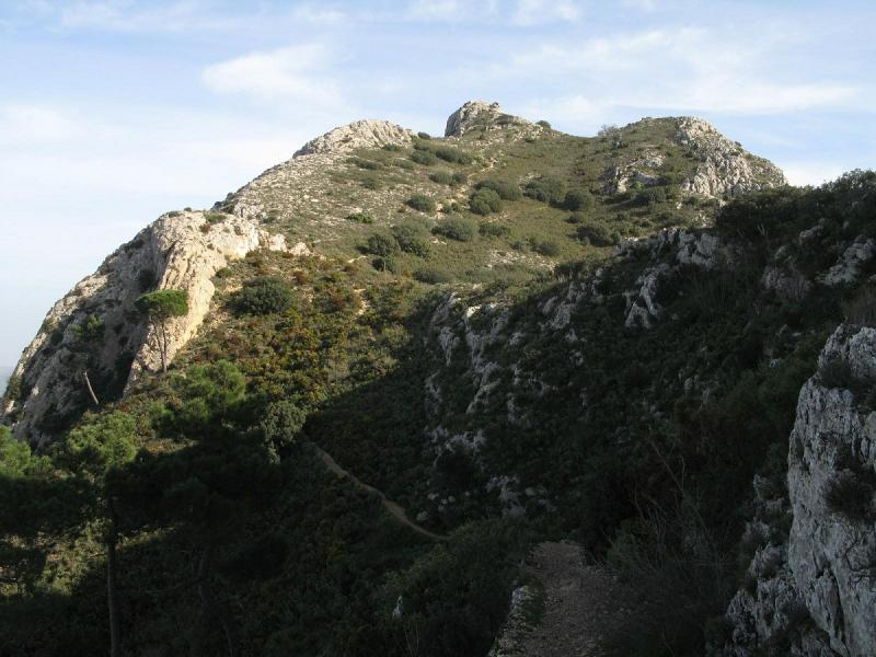 Paisaje en Benicadell
