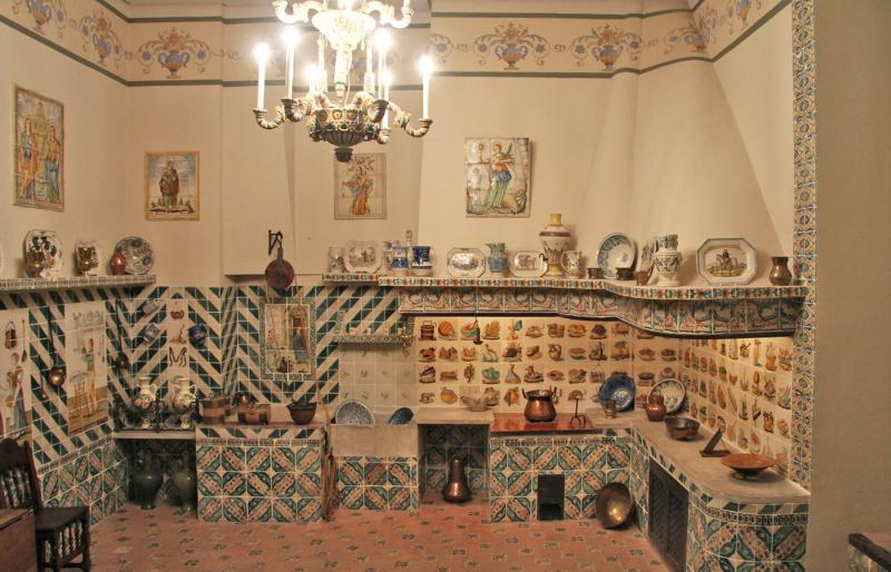 Salones del Museo de la Cerámica