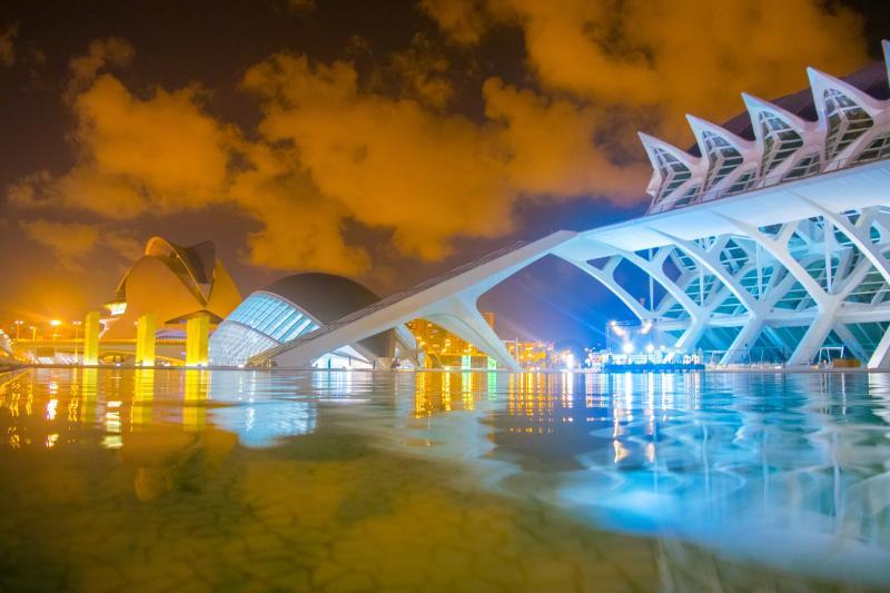 Ciutat de les Arts en València