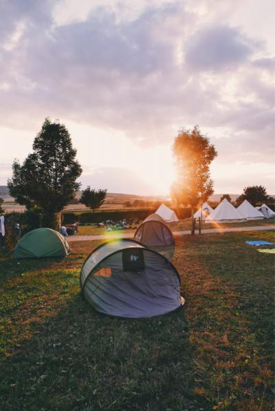 Caravana de camping