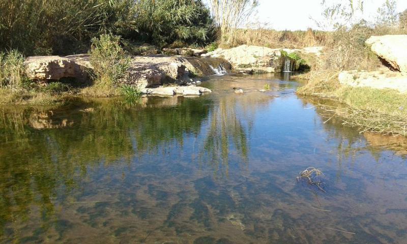 Puente seco de barranco