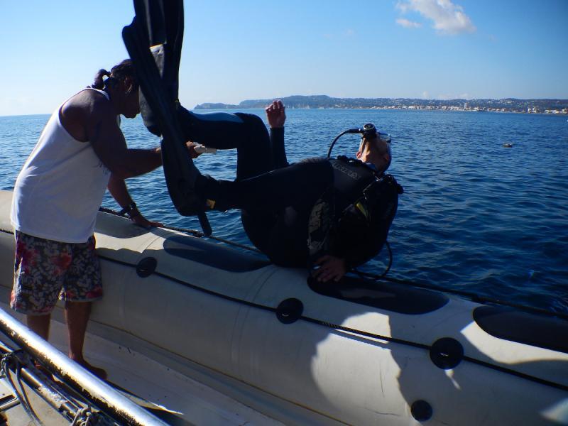 bautismo buceo costa blanca