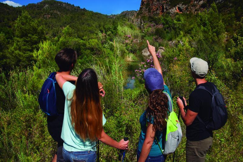 Ruta senderismo de la Mancomunidad Espadán Mijares