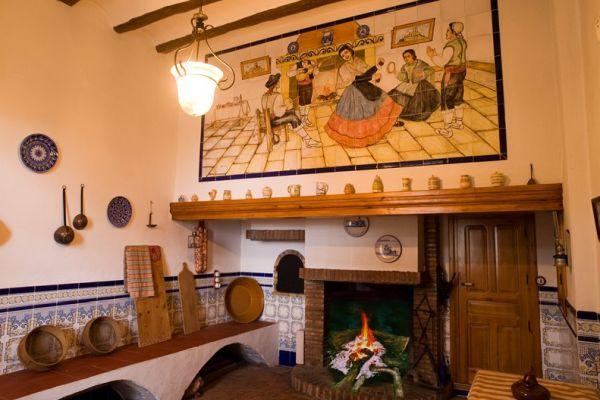 Casa Rural Fontanelles en Biar;Alicante