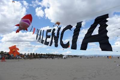 Internationales Drachenfestival Ciudad de Valencia
