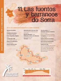 Ruta 11: Fuentes y barrancos Serra