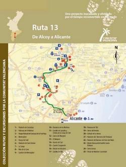 Ruta 13: De Alcoy a Alicante