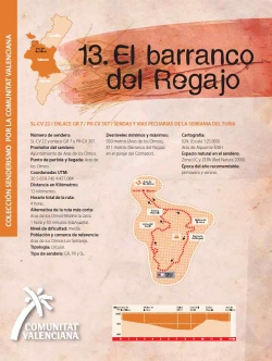 Ruta 13: El barranco del Regajo