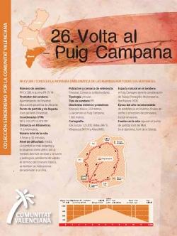 Ruta 26: Volta al Puig Campana