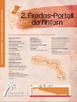 Ruta  2: Fredes-Portell de l'Infern