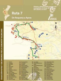 Ruta  7: De Requena a Ayora