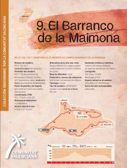 Ruta 9: El Barranco de la Maimona